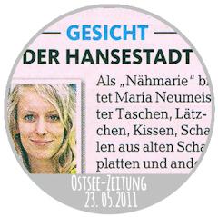 Gesicht der Hansestadt (Ostsee-Zeitung vom 23.05.2011)