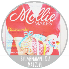 Blumenampel DIY in der Mollie Makes