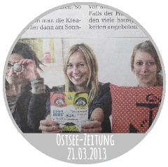 Designmarkt Ponyhof Ostsee-Zeitung 21.03.2013