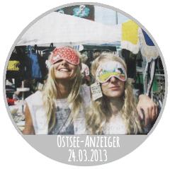 Designmarkt Ponyhof im Ostsee Anzeiger 24.03.2013