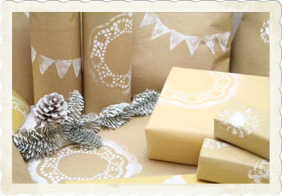 weihnachtliches geschenkpapier selbermachen upcycling n hmarie. Black Bedroom Furniture Sets. Home Design Ideas