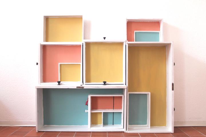 schubladenregal und tafelfarbe 8 n hmarie. Black Bedroom Furniture Sets. Home Design Ideas