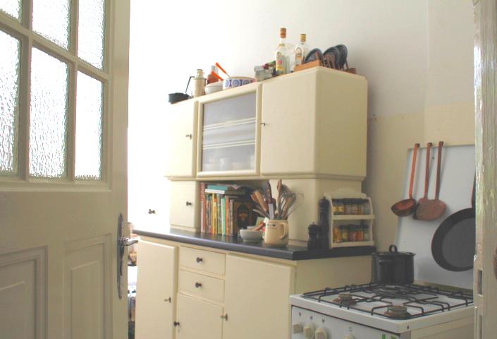 vintage k che 2 n hmarie. Black Bedroom Furniture Sets. Home Design Ideas