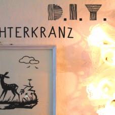 DIY Lichterkranz aus Spitzenpapier (1)