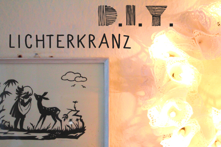 diy lichterkranz aus spitzenpapier n hmarie. Black Bedroom Furniture Sets. Home Design Ideas
