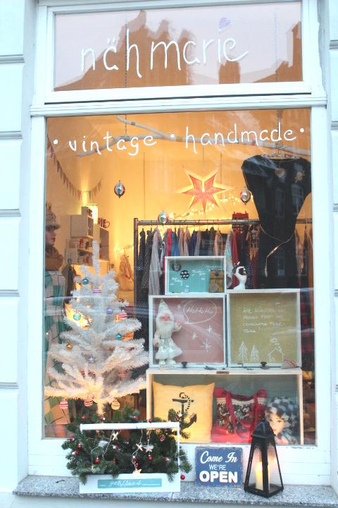 weihnachten im schaufenster 7 n hmarie. Black Bedroom Furniture Sets. Home Design Ideas