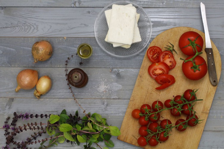 Feta-Tomate
