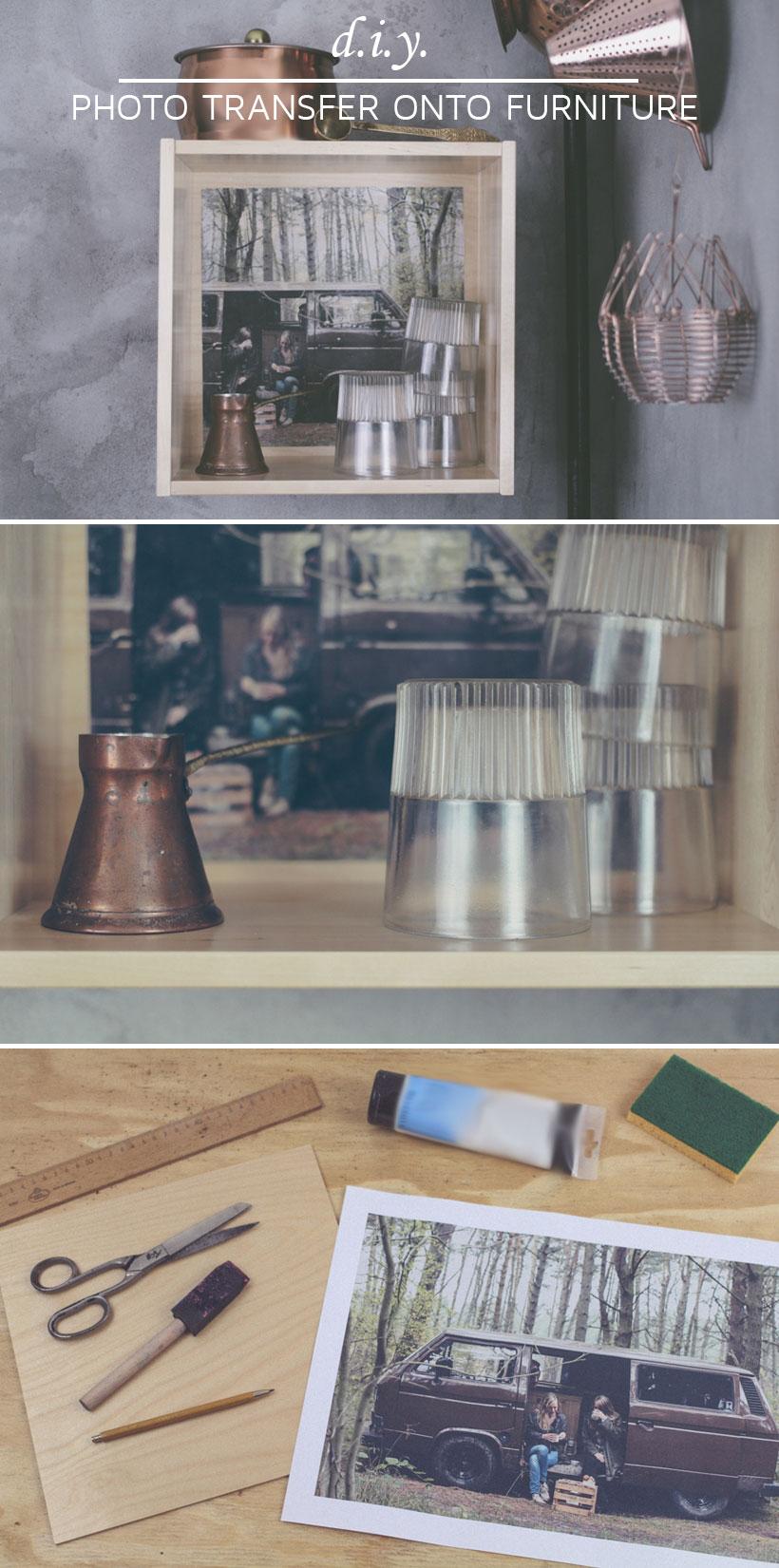 diy photo transfer onto furniture fototransfer auf holzm bel n hmarie. Black Bedroom Furniture Sets. Home Design Ideas